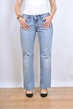 GUESS Frayed distressed Swarovski Elements Melrose Jeans W31 UK14 Boyfriend