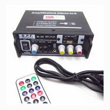 AMPLIFICATORE 2 - 4 CANALI STEREO HI-FI RADIO FM LETTORE MP3 USB EQUALIZZATORE