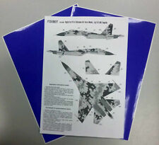 Foxbot FM 48-003 1/48 Sukhoi Su-27S, Ukranian Air Forces, digital camouflage
