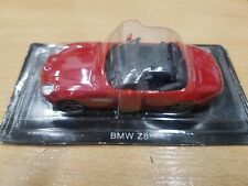 Bmw Z8 red Cabrio Deagostini toy car model 1/43 scale diecast new