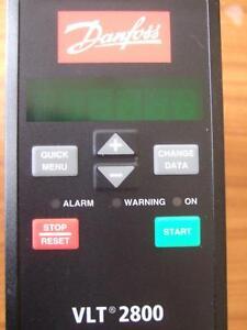 Danfoss VLT2807P - P/N 195N1013 0.75kW Variable Speed Drive - 3 Phase Inverter