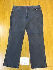 Wrangler 936WBK faded black jean tag 42x32 Meas 40x31 zip11443