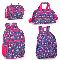 Delbag Pink Owls Bird Backpack Laptop Rucksack Travel Sports Work School Bag