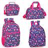 Delbag Pink Owls Bird Backpack Laptop Rucksack Travel Sports Work School Bag
