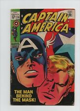 Captain America #114 - Red Skull Recovers The Cosmic Cube! - 1969 (Grade 4.0) WH