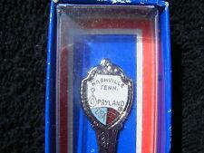 Vintage Nashville Opryland Fort Souvenir Spoon -Original Packaging - Made in Usa