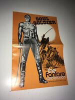 SOUL SOLDIER Movie Pressbook Rafer Johnson Barbara Hale Blaxploitation Western