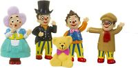 Mr Tumble & Friends 5 Piece Figurine Figures Figure Figurines Playset CBeebies