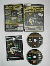 Soldier of Fortune II (2): Gold Edition - PC CD-ROM - Complete with Manual VGC