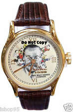 NEW MEN'S DISNEY MICKEY, MINNIE, DONALD DUCK, GOOFY, PLUTO WATCH LIMITED EDITION