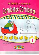 Disegna e colora cornicette. Rosa - Salvadeos - Libro nuovo in offerta!