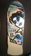 VISION - Mark Gonzales skateboard deck reissue - Yellow - New in Shrink