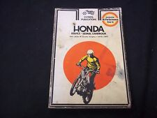 1970-1977 HONDA SERVICE REPAIR MOTORCYCLE HANDBOOK - HIGH PERFORMANCE- O 191