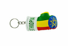 Keychain Mini boxing gloves key chain ring flag key ring cute ethiopia ethiopian