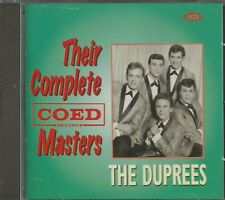 THE DUPREES - CD - Their Complete Coed Masters - BRAND NEW
