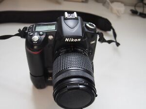 nikon d90 with 28-80mm & 80-200mm lenses & battery grip
