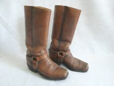 RARE 1970's Vintage FRYE Black Label ENGINEER BOOTS  Womens 8.5/9 Mens 6.5
