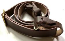WWII SOVIET RUSSIA M1898 MOSIN NAGANT RIFLE LEATHER CARRY SLING