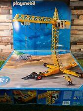 Playmobil 3262 gran grúa de construcción eléctricos trabajando en Caja