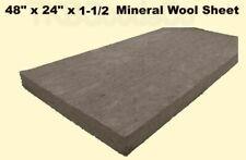 Mineral Wool Sheet  1-1/2
