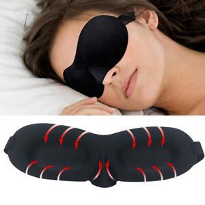 3D Sleeping Eye Mask Rest Aid Eye Patch Blindfold Eye Relax Soft Massage Eyemask