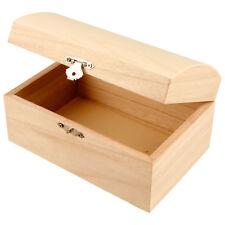 Holztruhe Schatzkiste Holzkiste 21,5x15,8x10,5cm Geschenkbox Holzbox Truhe