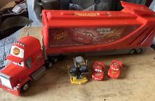 Mattel Disney Pixar Cars Mega Mack Playset Town Truck With Bessie And Mcqueen