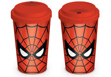 Travel mug superman web rouge MGT23764 en céramique fun neuf thé ou café boissons