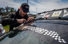 Operation Motorsport Official windshield banner for military & veteran programs