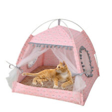 Foldable Pet Dog Tent House Cat Cage Pet Cat Small Dog Puppy Kennel Tents