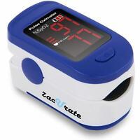 Finger Pulse OX Oximeter Oxygen sensor Digital Fingertip Adult Medical Portable