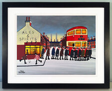 """JACK KAVANAGH """"GOING TO THE MATCH"""" STOKE CITY FRAMED PRINT"""