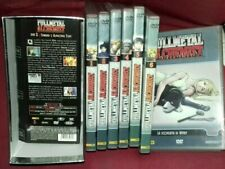 SET ANIME/MANGA FULL METAL ALCHEMIST-LIMITED BOX COFANETTO + DVD 1,2,3,4,5,6,8,9