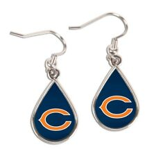 Chicago Bears Wincraft NFL Tear Drop Earrings Carded FREE SHIP!