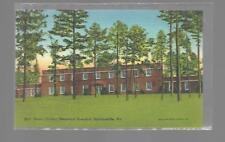 HENRY COUNTY MEMORIAL HOSPITAL,MARTINSVILLE VIRGINIA-LINEN POSTCARD NEW NM