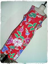 Derek Heart Red Tropical Floral Tank Summer Sun Dress 2X