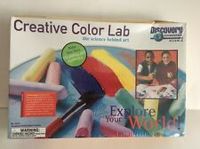 2000 Discovery Channel Science Creative Color Lab - Free Shipping