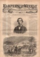 1869 Harpers Weekly December 4-Cardiff giant found; E. Swedenborg; Presbyterians