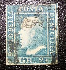 Antichi Stati Sicilia 2 grana usato varietà codice 009