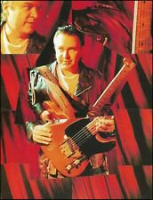 Danny Gatton circa 1993 with Fender Telecaster guitar 8 x 11 color pin-up photo