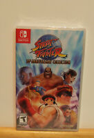 Street Fighter 30th Anniversary Collection Nintendo Switch New Factory Sealed