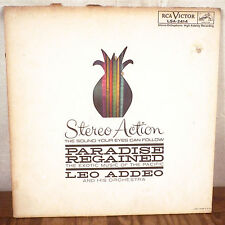 Leo Addeo Paradise Regained LP RCA Living Stereo Action Exotica die cut cvr VG+