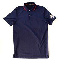 Ralph Lauren Mens RLX Golf Polo USA Navy Blue Shirt Size XS Extra Small