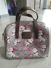 Loungefly - Marie Floral Gris Sac A Main - Disney Les Aristochats