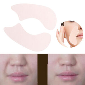 1Pair Reusable Silicone Face Lifting Sticker Wrinkles Compressing Patches Pad_ZY