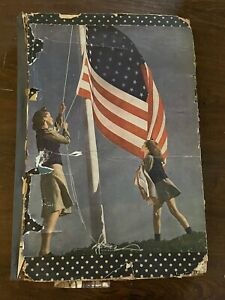 Vintage 1933 Scrapbook Filled With Newspaper Clippings Over 60 Pages