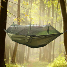 Double Person Hammock with Mosquito Net for  Camping Picnic