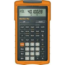 Heavy Construction Pro Calculator Area Volume Weight Slope Calculating Hand Tool