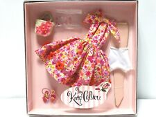 "Tonner Tiny Kitty Collier 10"" Mod Pink Flowers Outfit New"