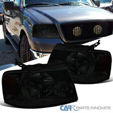 For Ford 04-08 F150 Lincoln 06-08 Mark LT Replacement Smoke Headlights Lamps